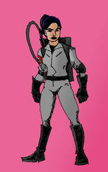 Girl Ghostbuster 6 by Michael-McDonnell