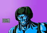 Rogue Trooper Drawing by Michael-McDonnell