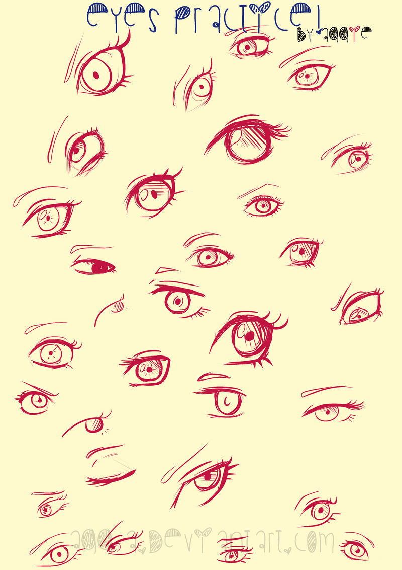 Eyes practice by Agg-A