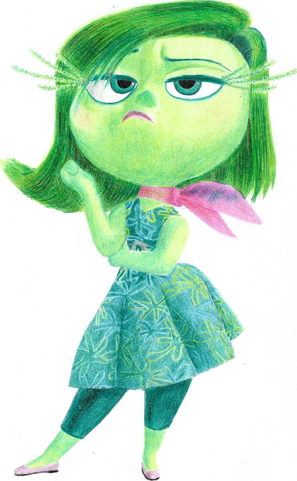Inside Out: Disgust By Hellsing-Order On DeviantArt