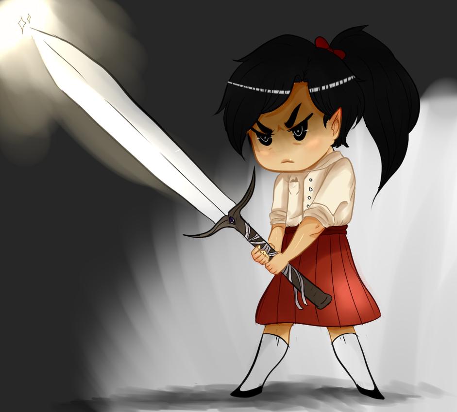 Child Flissa: Fight! by SnarkyButt