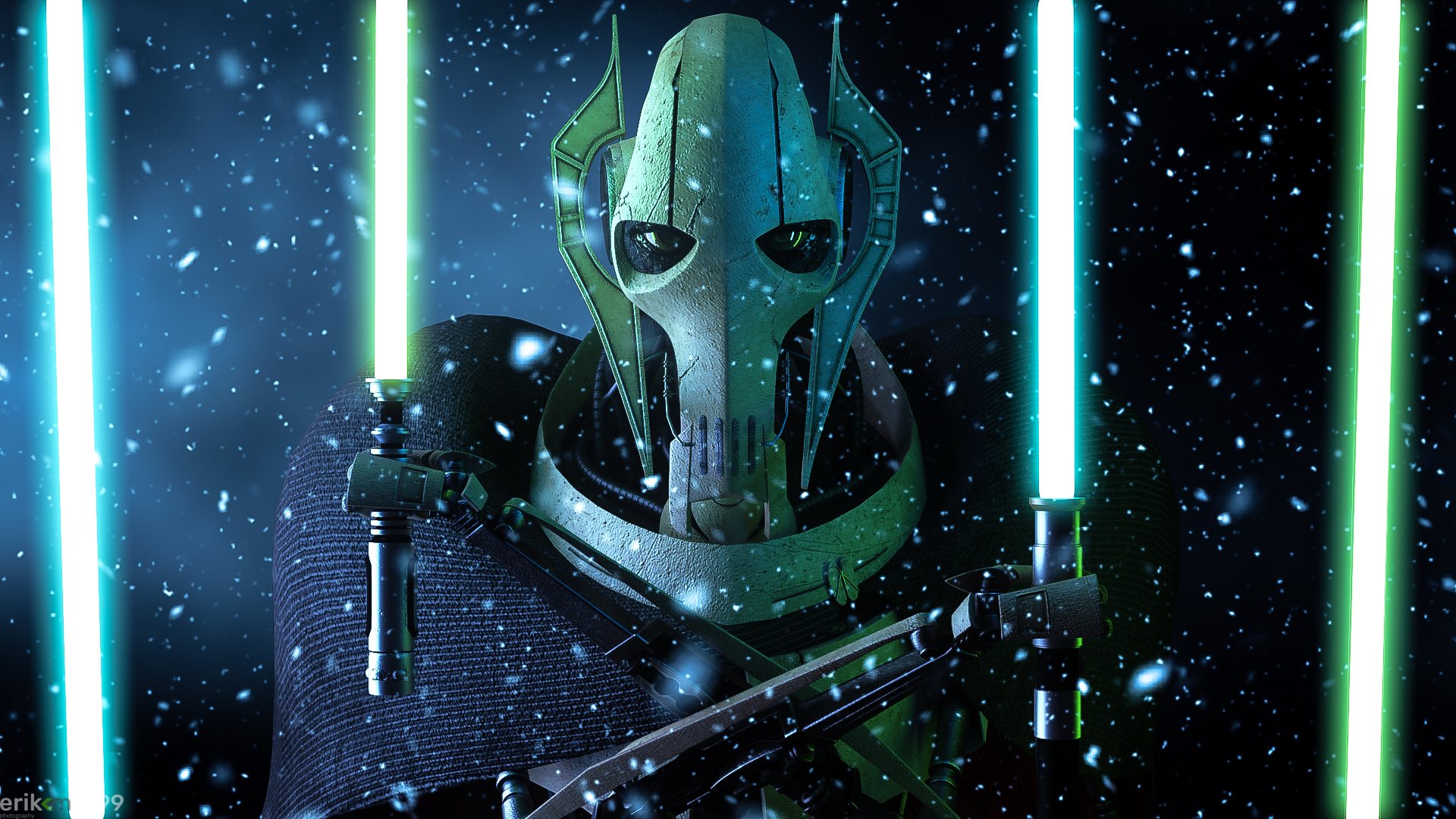 Your lightsabers will make a fine addition...