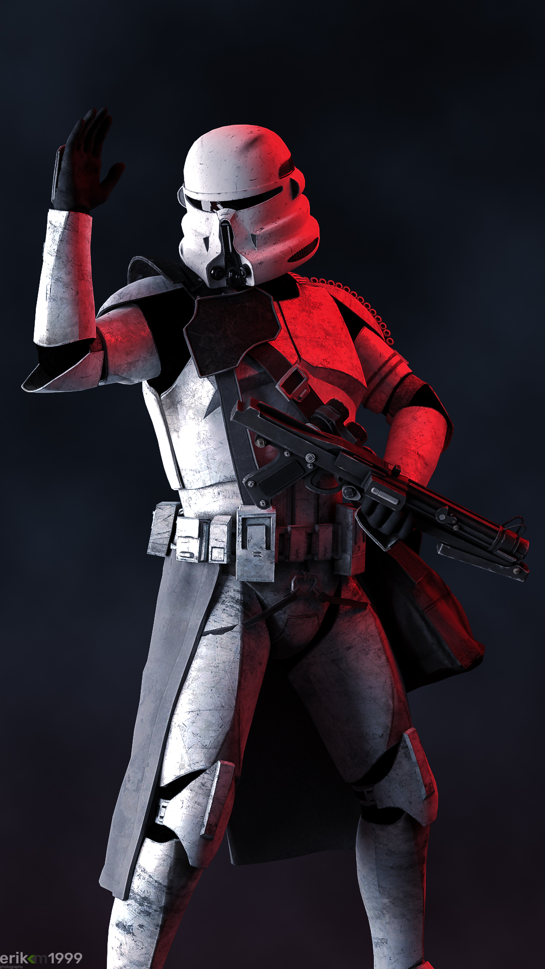 Airborne Trooper AT-2781 reports for duty
