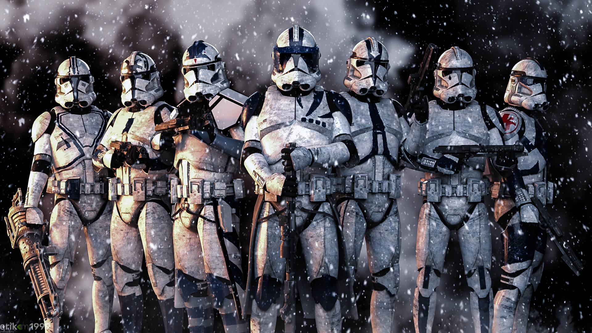 The finest of the 501st