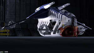 Razor Squad - Tigershark LAAT by Erik-M1999