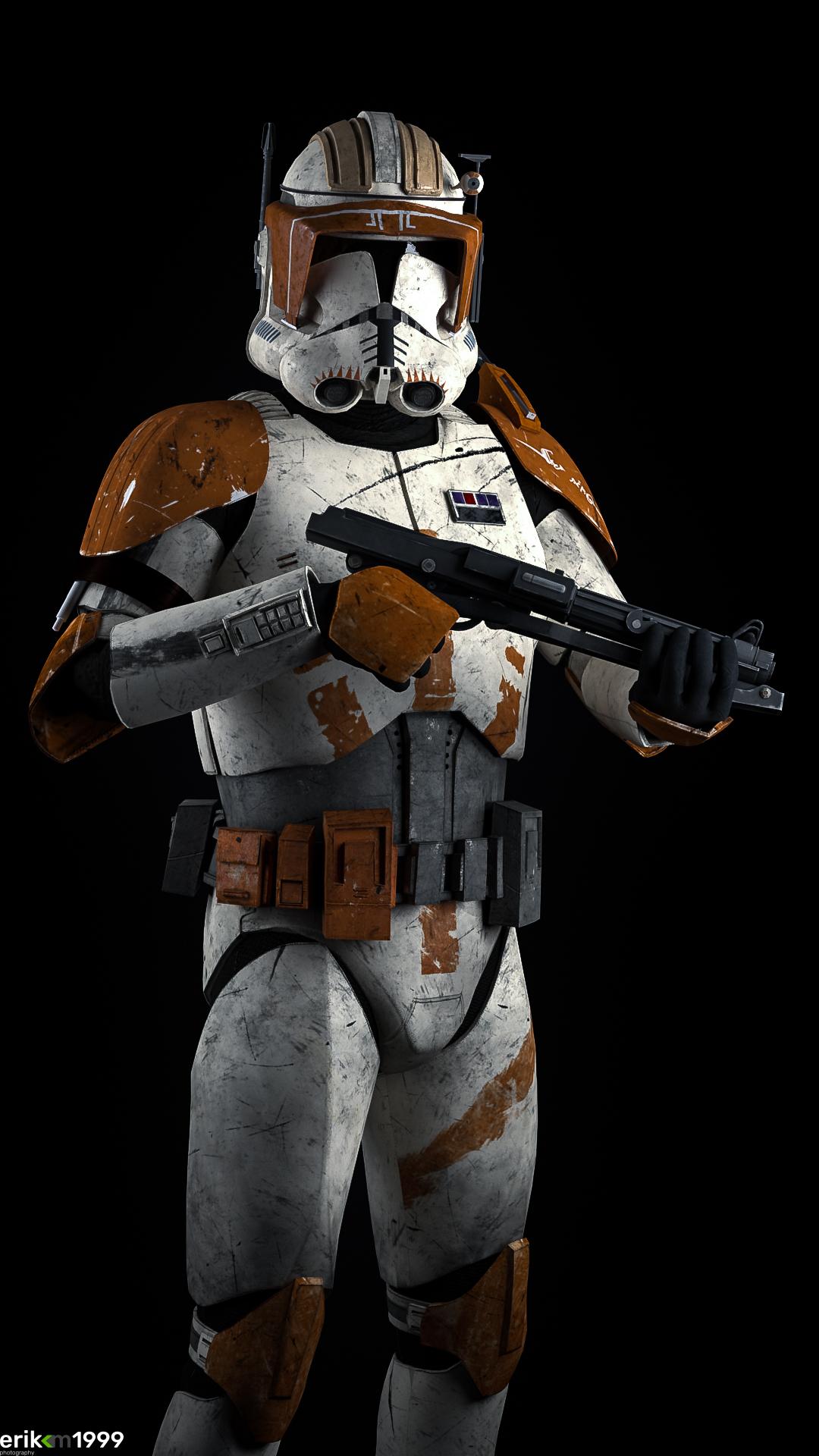 Commander Cody joins the battle... by Erik-M1999