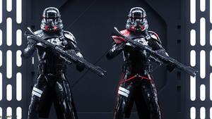 STAR WARS: Jedi Fallen Order Purge Troopers by Erik-M1999