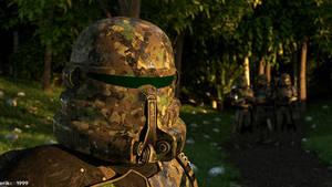 41st Airborne on Duty
