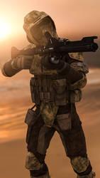 STAR WARS BATTLEFRONT II: 41st Scout Trooper by Erik-M1999