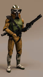 41st ARF Trooper TCW style by Erik-M1999