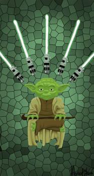 Master Yoda Iphone Wallpaper By Neomarceljuca On Deviantart