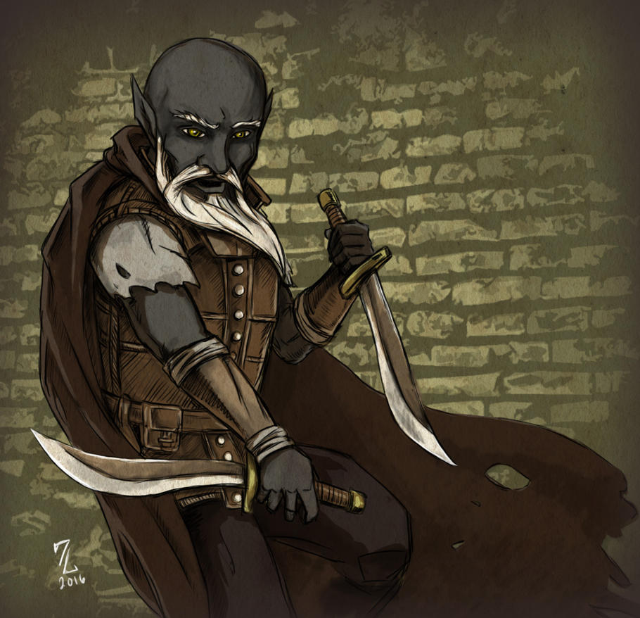 Deep Gnome Rogue Assassin - Swuzzleflicts by Narthyxa