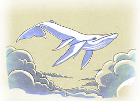 014 - A is for AirWhale by Narthyxa