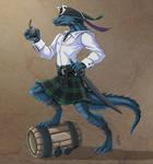 Angus - Dread Pirate Lizarkfolk