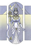 Bast - Egyptian Goddess of Protection by Narthyxa