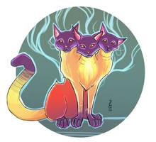 Purribus - The Feline Cerebus Alternative by Narthyxa