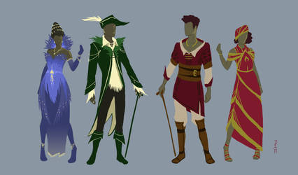 Nobles and Merchants of Mordahl - Concept