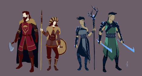 Warriors and Mages of Nathune - Concept