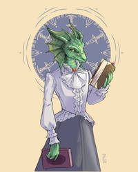 Dragonborn Librarian