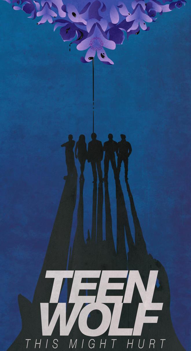 teen wolf tv poster