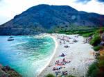 beach by inkoginko