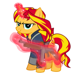 FO:EVerse: Sunset Shimmer and Sunbeam by NC-TV