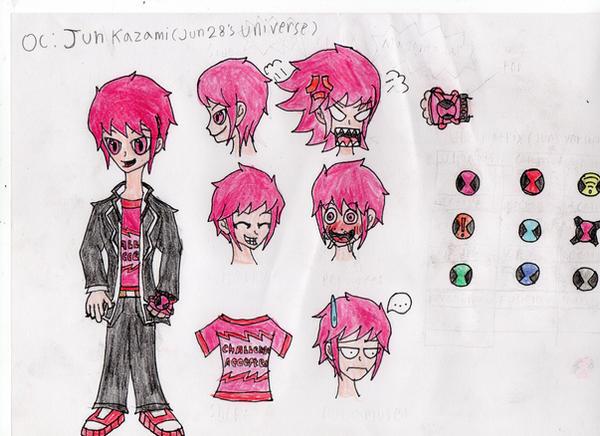 OC: Jun Kazami (Jun 28 Universe) by ArieDranoid22 on DeviantArt