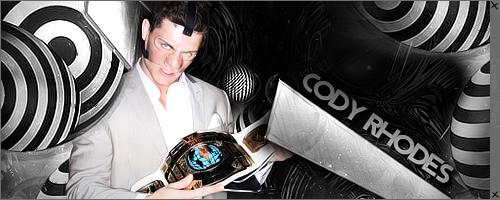 Cody Rhodes by ProdOfCedric