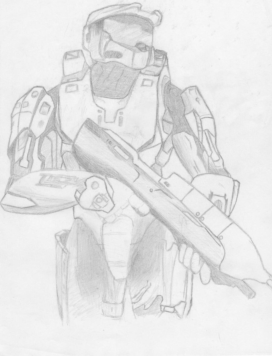 Halo Spartan by Dark-Tado on DeviantArt