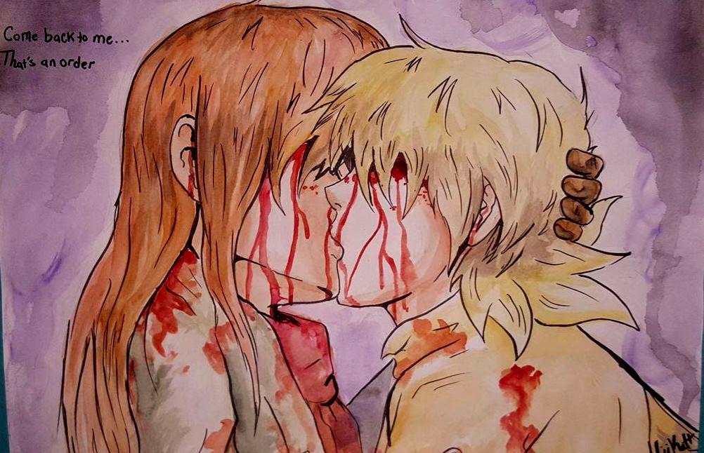 Pip X Seras Kiss by AliiKatt