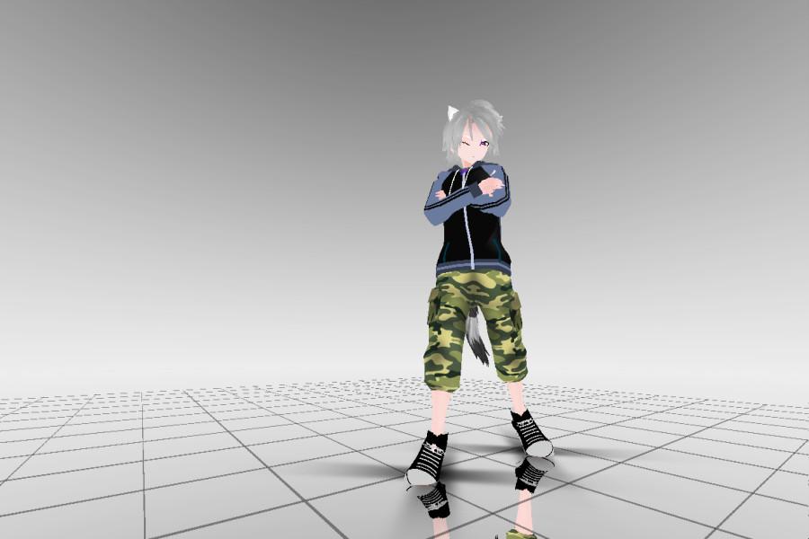 MMD - Usami Model [FINALLY DONE!] by StupidUsagiSan
