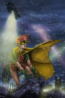 Fly high robin.. :) by Superpael