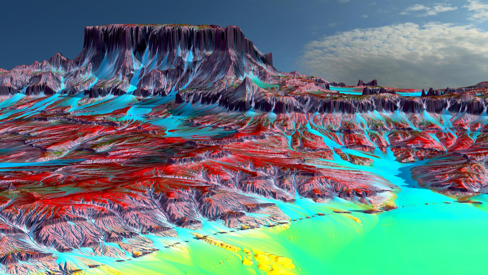 Majestic Terrain by Lynxette79