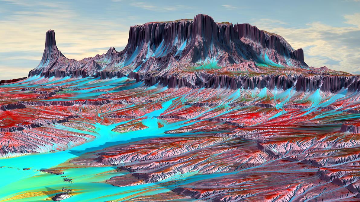 Majestic terrain III by Lynxette79