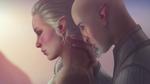 Solas and Lavellan by MissBasha