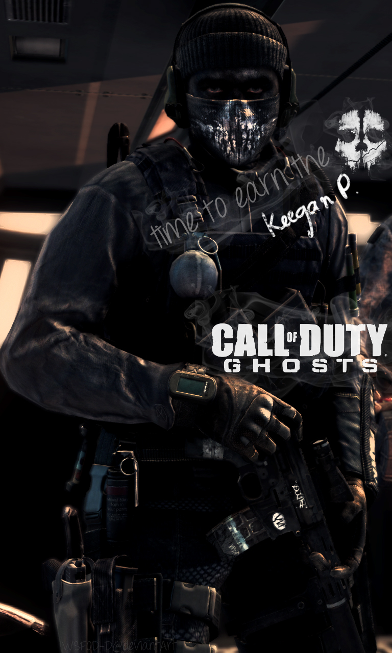 Call Of Duty Ghosts Keegan Phone Wallpaper By Iwsfod D On Deviantart