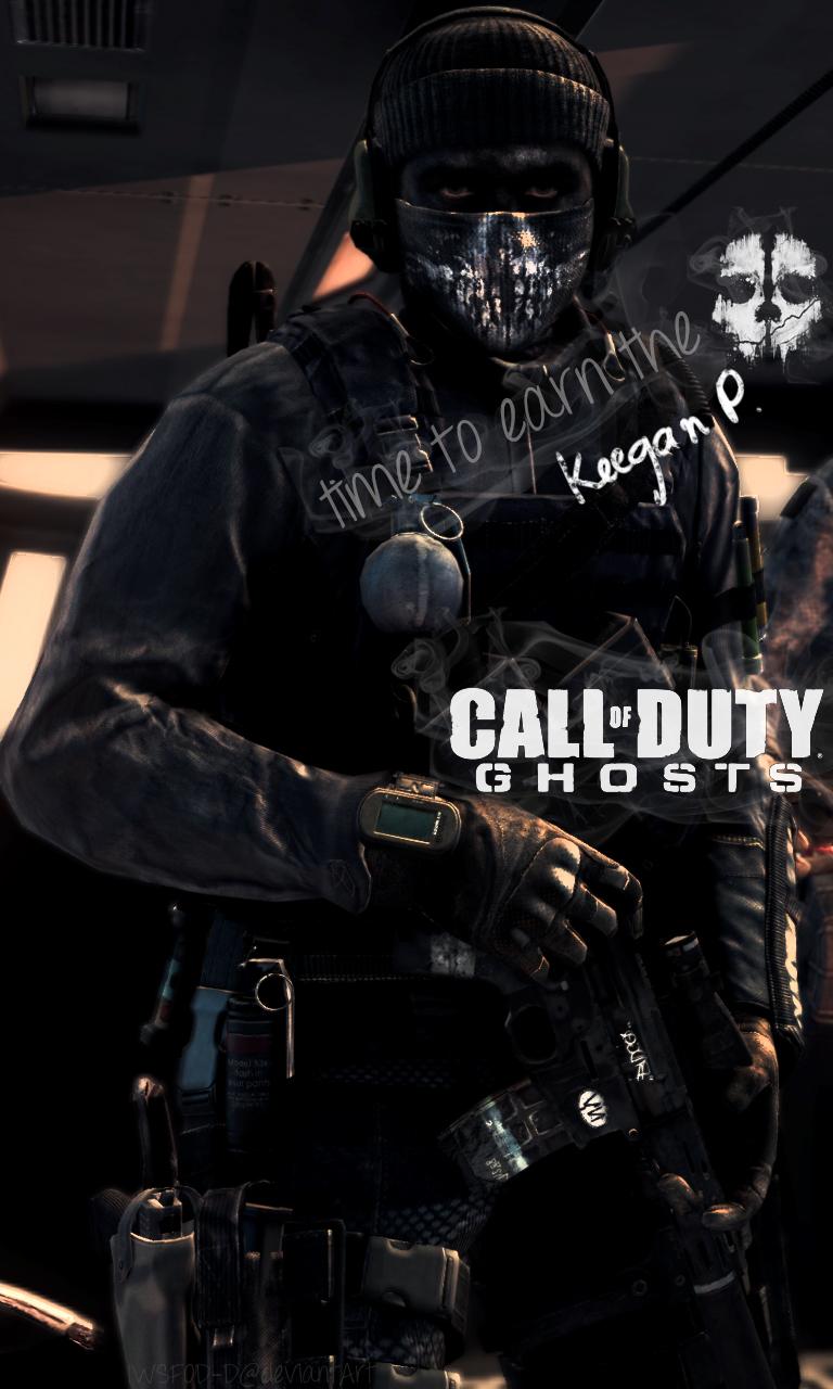 Call Of Duty Ghosts Keegan Phone Wallpaper By Iwsfod D On Deviantart