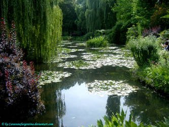 Giverny - Water-Lily pond by Cansounofargentina