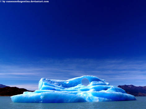 Iceberg from Upsala's Glacier 3