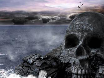 Skull Mountain by redkiler