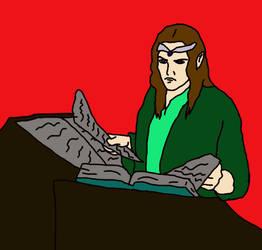 Elven Scholar