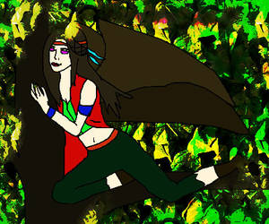 Bat Fairy in the Forest 2