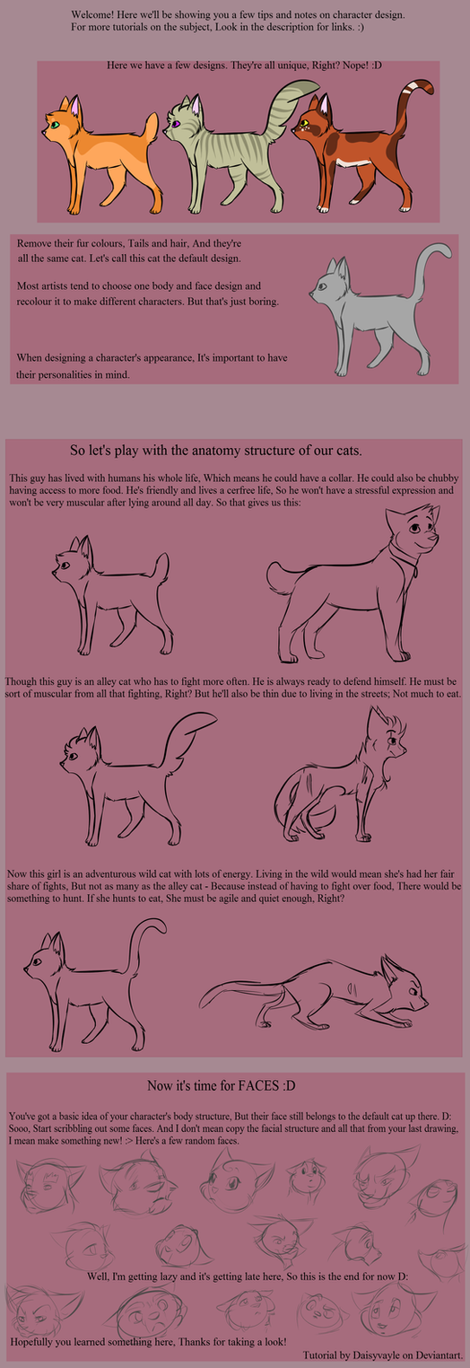 Character Design Tutorial Deutsch : Character design tutorial or something by daisyvayle on