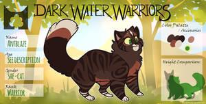 DWW | Antblaze | She-cat | Skyclan by Daisyvayle