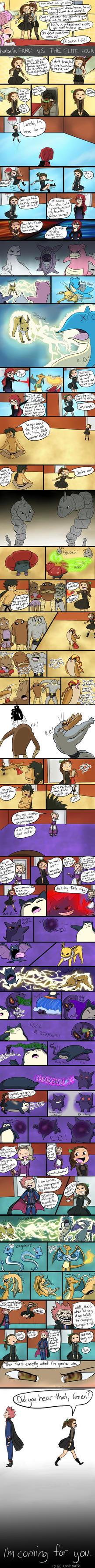 Isabel's FRNC: Vs The Elite Four by MeowMix72