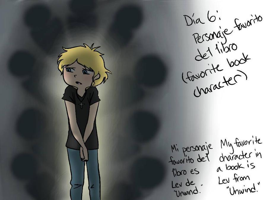 Dia 6: Personaje favorito del libro by MeowMix72