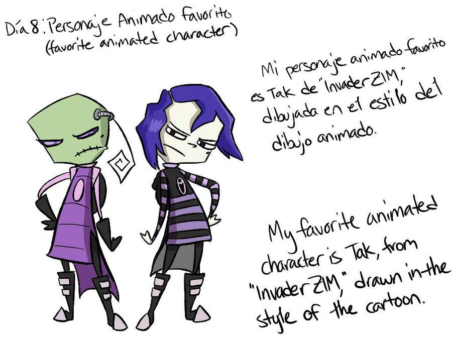 Dia 8: Personaje animado favorito by MeowMix72