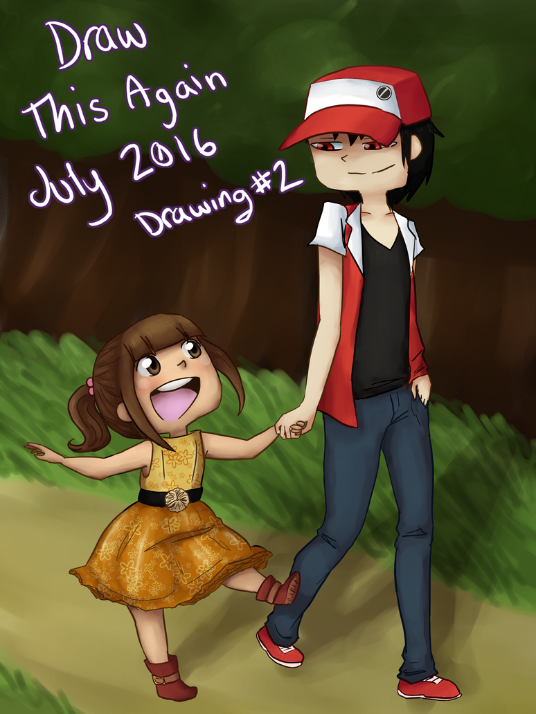 Draw This Again: 5 months by MeowMix72