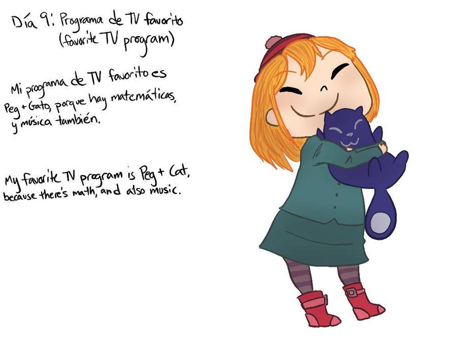 Dia 9: Programa de TV favorito by MeowMix72