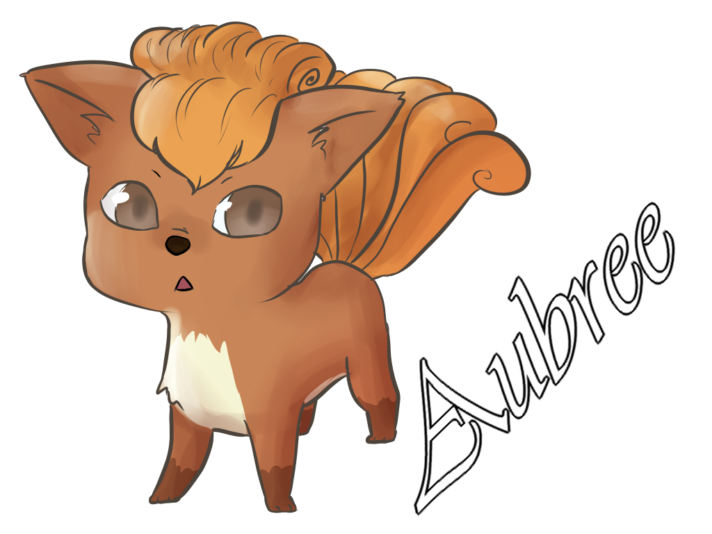 aubree the vulpix by MeowMix72
